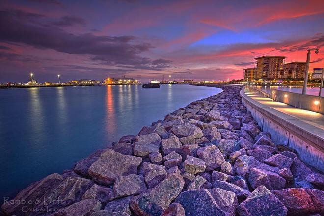 160110 @ramblingdrift Waterfront Darwin